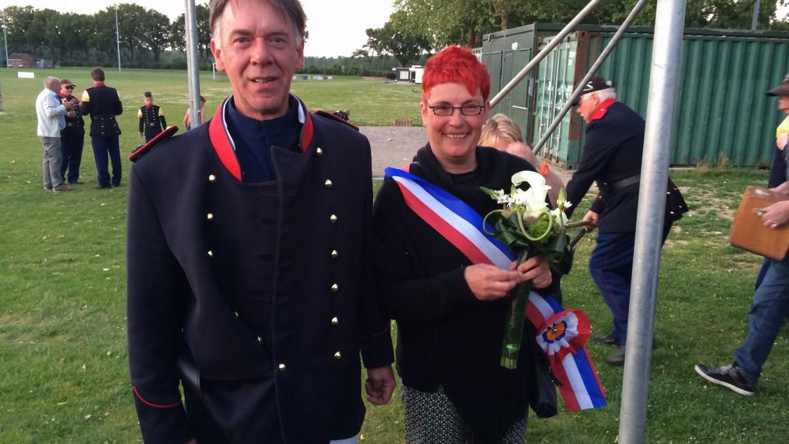 Koningspaar 2015 Charel & Sylvia Cleuskens