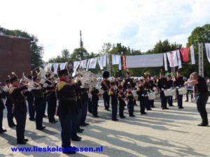 Uittreden Drumband Sint Salvius Limbricht Bondsfeest Amstenrade 2017 1e Divisie